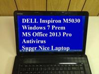 DELL Inspiron M5030, Microsoft Workplace 2013 Pro. The
