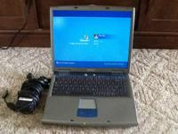 This is a Dell Inspiron 5100 Laptop. It is running