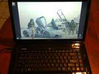 barely used Dell insprion 1545 running WINDOWS 7