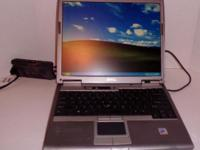 Dell Latitude 0610 Laptop OS: Windows Professional XP