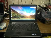 We have a Dell Latitude e5520 for sale. It is in good