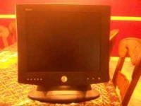 "I have 1 working LCD 17"" color monitor.. I have"