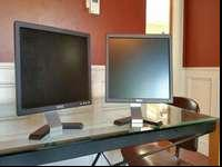 Selling two dell monitors. Both work. No cables. $15.00