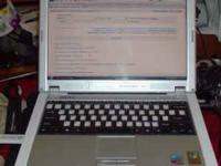 Dell pentuim 4 Laptop it has a 1.6Ghz CPU with 512mb of
