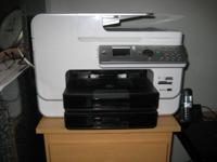 DELL Photo 966 All-In-One Inkjet Printer w/Manual, CD,