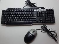 Up for sale is a used Dell Multimedia USB Keyboard and
