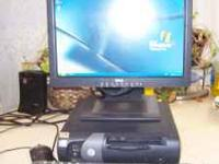 Im sellling a dell slimine pc, with a 17' flatscreen,