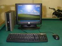 "Dell SX280 w/ 15"" LCD Monitor Windows XP Professional"