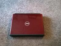Type: Laptops Type: Dell RED, 256 HARD DRIVE, DVD ROM,