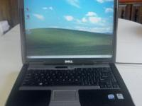 Dell Latitude D530 Laptop, 2ghz, 1.5gb ram, 80gb hd,