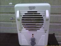Up for consideration:  Delonghi DUH301 Utility Heater