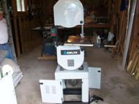 "Delta 14"" band saw model: 28-206 & 28-276 . In very"