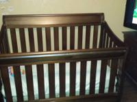 Brand New Baby Crib, Includes Mattress. Never Used. NE