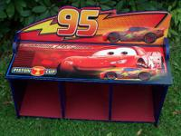 This Lightning McQueen toy organizer can also be used
