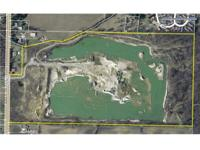 74+ acre mining quarry. Real Estate includes rights to