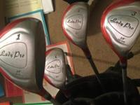 3 clubs incomplete set, grips like new, sent on driver