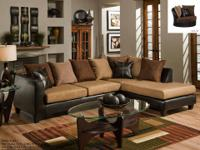 Delta Sectional *Covered in a super soft microfiber