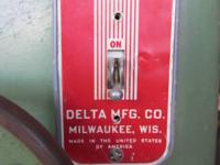 Delta (Originally Milwaukee Crescent) spindle shaper in