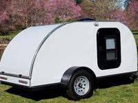 5X10 Teardrop Trailer with a lot of up grades.AC, Heat,