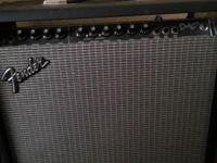 This fender amp was like around 4 or 500 hundred