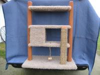 Cat Play area and Multi-Perch: Model #1309 This