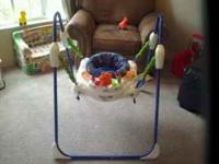 "Deluxe Jumperoo ""jump for lights and music"""