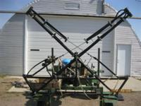 For Sale: Demco Model: DB30TDF 30' Truss T Sprayer Boom