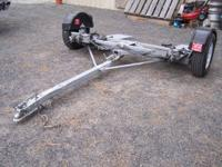 DEMCO TOWDOLLY. Used two times. Has pivot deck for