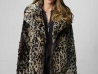 Denim & Supply Ralph Lauren's faux fur coat features an