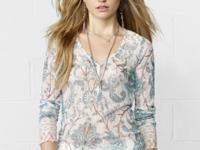 Denim & Supply Ralph Lauren's ultra-feminine Henley