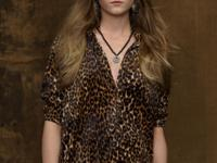 An exotic animal print adds a rock-and-roll edge to