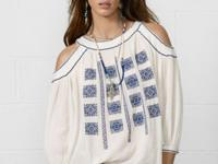 Denim & Supply Ralph Lauren's long-sleeved peasant top