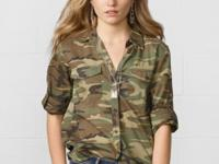 Crafted from soft cotton and designed with a cool camo