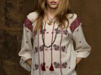 Denim & Supply Ralph Lauren's gauzy cotton top is