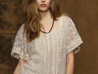 Denim & Supply Ralph Lauren's sheer mesh top is