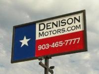 Denison Motors 820 South Austin Ave Denison. TX 75020