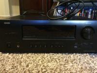 The Denon AVR-1612 5.1 Home Theater Receiver delivers