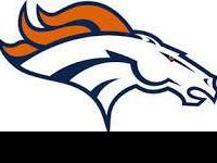 Two tickets for Denver Broncos vs Houston Texans,