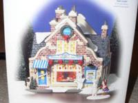 OFFERED IS THE DEPARTMENT 56 BIG LEAUGE SPORTS STORE