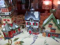 Great Variety of Collectible Dept 56 Christmas Village