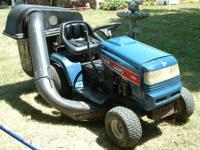Really good dependable riding lawn mower with a grass