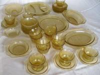 I have this gorgeous set of fine dinnerware, over 140