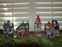 Dept 56 North Pole Village 6 Village Pieces from the