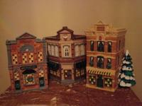 DEPT 56 - SNOW VILLAGE - APOTHERCARY, BAKERY & TOY