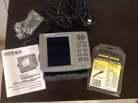 Eagle FishMark 640c depth finder. Outstanding condition