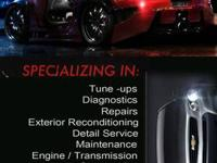 Now open Services offered: Auto detailing Auto