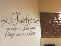 Simple Stencils Vinyl Wall Art bring life to any room