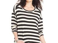 Allover stripes make this Design R&D top a cool pick