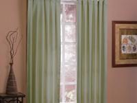 """Designables Moss Twill Solid Window Panel63""""L X"""