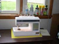 Huskevarna Viking Designer I Embroidery Sewing Machine.